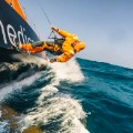 volvo ocean race side walk