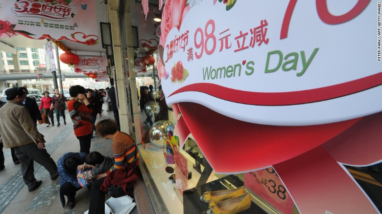 China detains activists ahead of Women's day