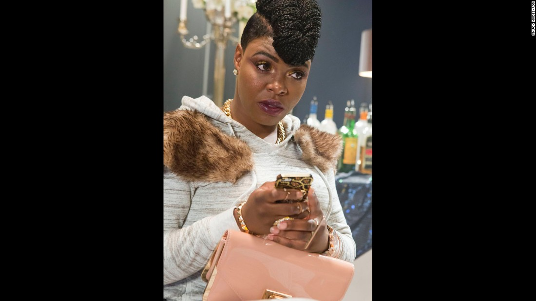 Porsha, played by Ta'Rhonda Jones, is Cookie's assistant and comedic sidekick.