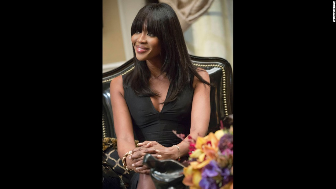 Naomi Campbell guest-starred in season one  as the very sexy Camilla Marks, a businesswoman who develops a special relationship with one of the Lyon brothers.