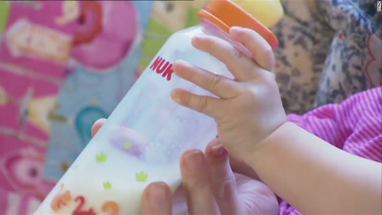 Police reveal threat to poison baby milk formula