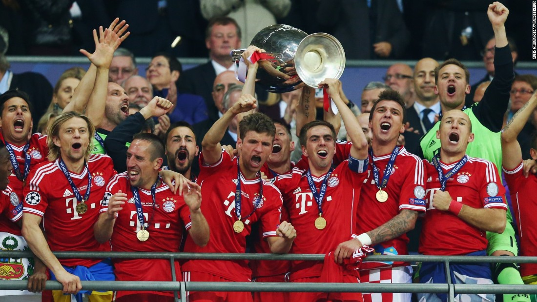 Muller has a host of titles to his name at just 25. He's won the German Bundesliga crown three times with Bayern as well as five domestic cup competitions. He was part of Bayern's European Champions League winning side in 2013 when it also won the UEFA Super Cup and the FIFA Club World Cup.