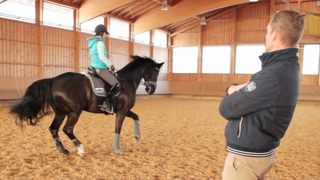"Lisa has years of training with Birkhofs Dave under her belt but in the world of dressage, the schooling never stops: ""You have to do eight years to learn everything but you always keep learning,"" she told CNN. ""It's not like other sports, you always train yourself, you have to get a harmony between the horse and yourself.""<br />"