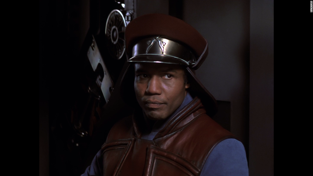 "Hugh Quarshie played Captain Panaka, the bodyguard for Natalie Portman's Queen Amidala character  in ""The Phantom Menace."""