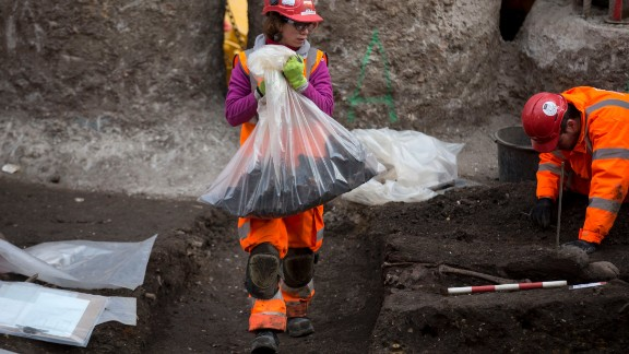 A team of 60 archaeologists will work six days a week on the project, expected to finish in September this year.