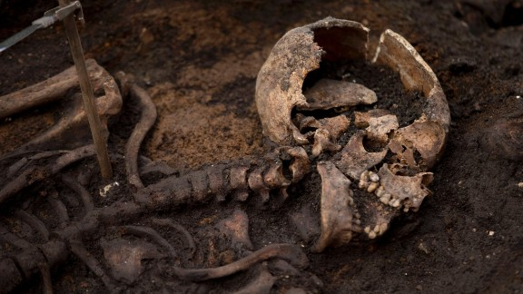 """Also known as Bethlem and the New Churchyard, more than 20,000 Londoners are believed to have been buried there. The ground was used by """"a varied cross-section of society throughout the years since the burial ground was open,"""" Nick Elsden, project manager from MOLA (Museum of London Archaeology) told CNN."""