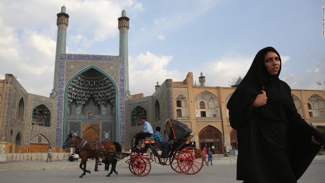 The final stop is Esfahan, a 2,500-year-old city that was the capital of the Persian Empire three times.