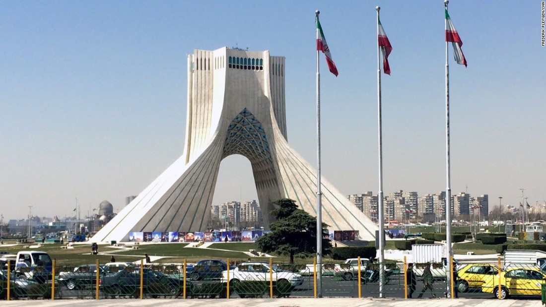 The trip began in the Iranian capital, a sprawling metropolis with around 12 million inhabitants.