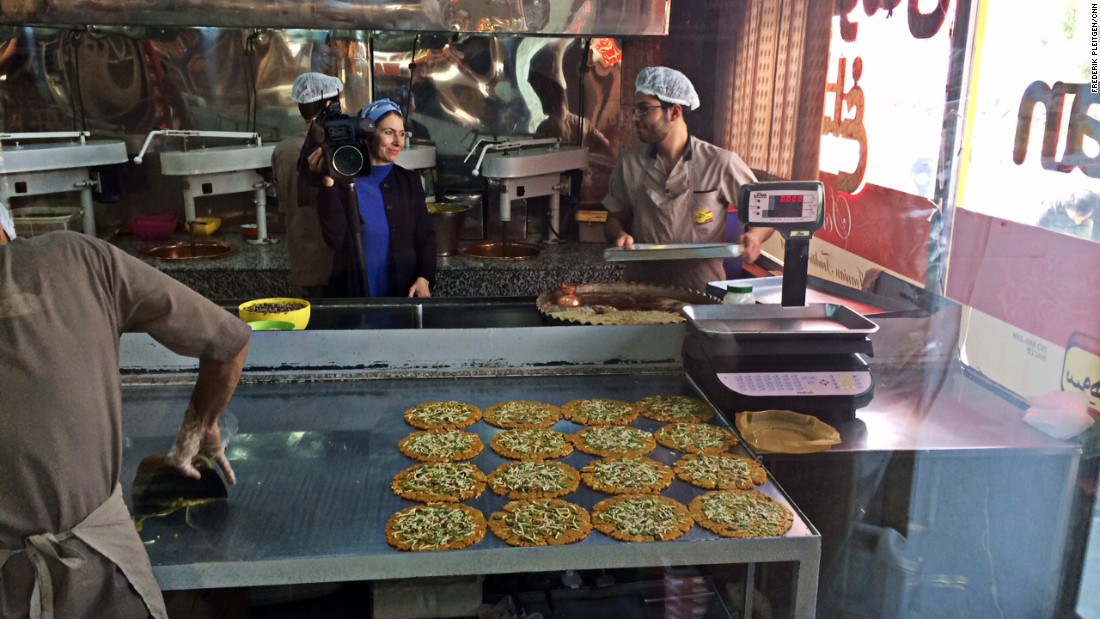 South of the capital lies Mahtab, where sohan -- a brittle toffee topped with pistachios and almonds -- is a big hit.