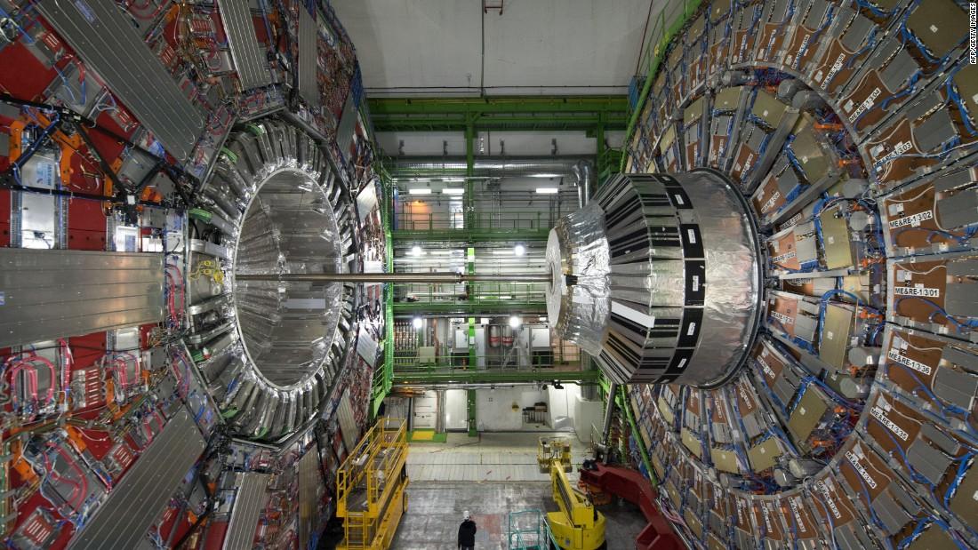 Image result for cnn large hadron collider restarts