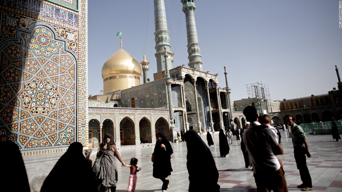 Qom is home to the Masumeh holy shrine, one of the most important tombs in Iran.