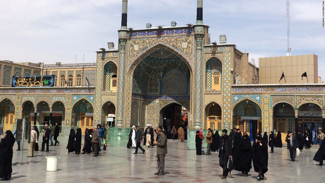 The next stop -- the holy city of Qom -- is one of the most important places for Shia pilgrimage in Iran and also the country's center for theological studies.