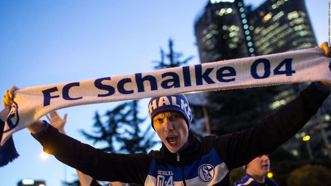 German side Schalke arrived in Madrid hoping for a miraculous victory against Real. Schalke was beaten 2-0 in Gelsenkirchen in the first leg of the last-16 tie.