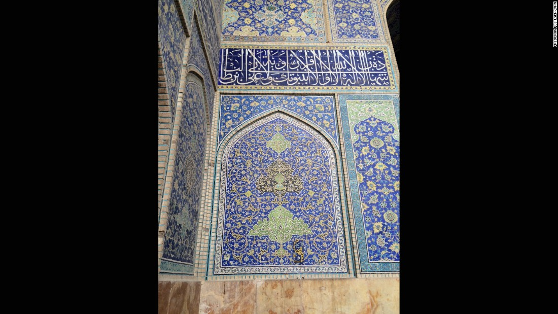 UNESCO says that the blue-tiled buildings of Imam Square are testimony to the level of cultural life in Persia during the Safavid era, which began in the early 16th century.