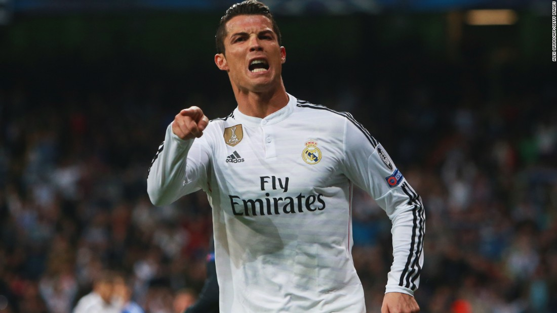 Ronaldo 's double helped Real escape humiliation and secure a place in the quarterfinals.