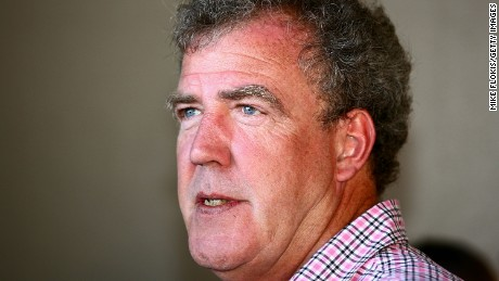 British television presenter Jeremy Clarkson in Sydney, Australia on February 10, 2010.