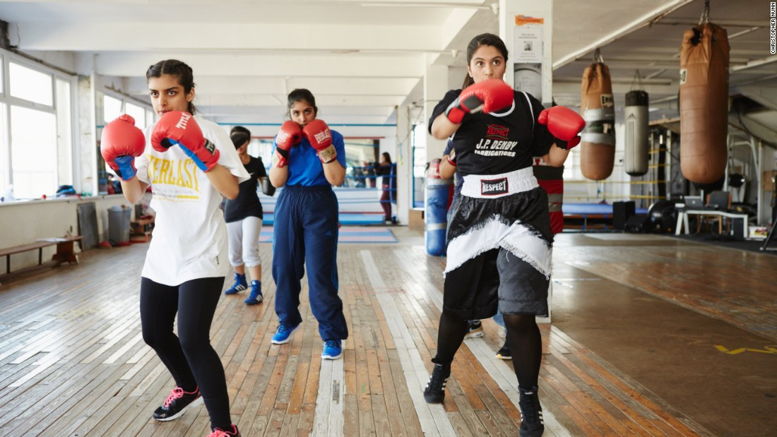 Written by Aisha Zia, the show is partly inspired by former UK national champion Ambreen Sadiq who experienced bullying and racism on her way to the top. Since she started eight years ago she's seen attitudes change -- people who originally told her she couldn't box have become big fans of the show.