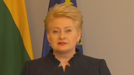 Lithuania President decries naive approach to Putin