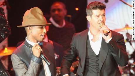 'Blurred Lines' song copied Marvin Gaye