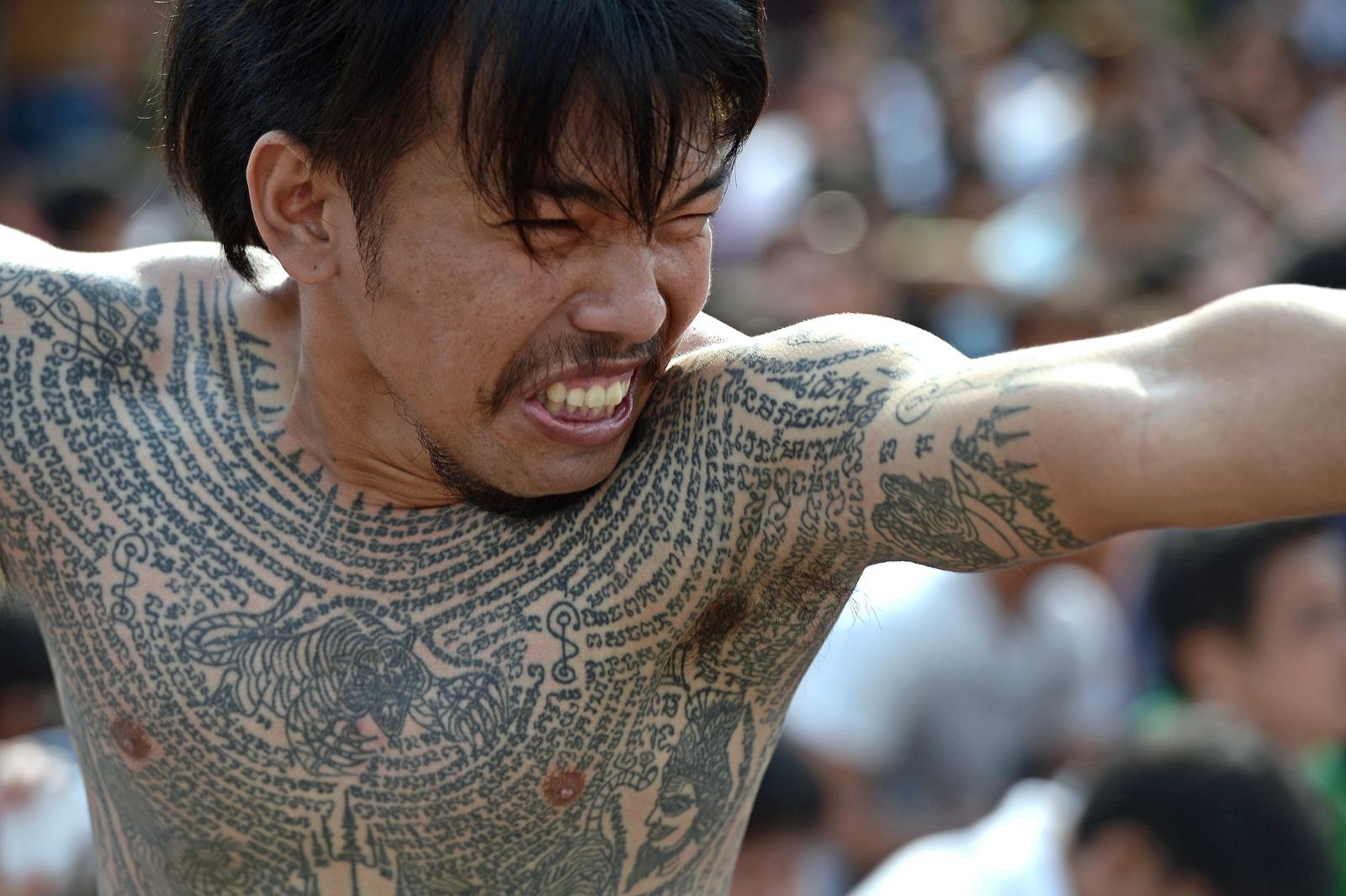 Getting inked at Thailand&#39;s <b>Sak Yant</b> Festival   CNN Travel
