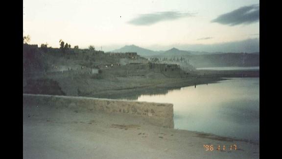 A view of the lake outside Tora Bora.