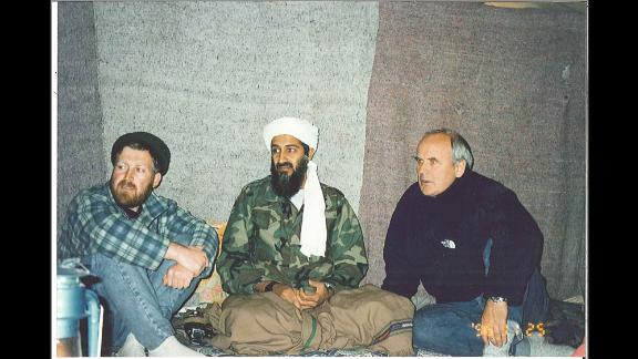 From left, inside bin Laden