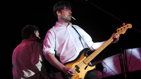 Musician Alex James of the band Blur performs Coachella Valley Music & Arts Festival. The Chipping Norton resident is also an avid cheese maker, and enlisted celebrity friends such as Jamie Oliver to help out with The Big Feastival, an annual fair held in the village.