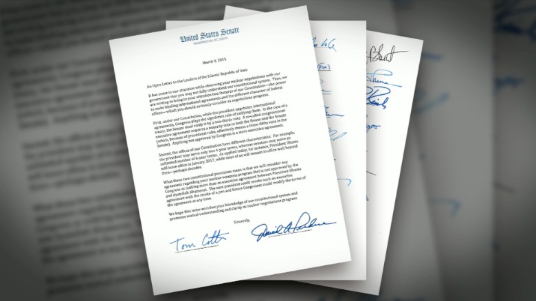 Some Republican 'buyer's remorse' over Iran letter