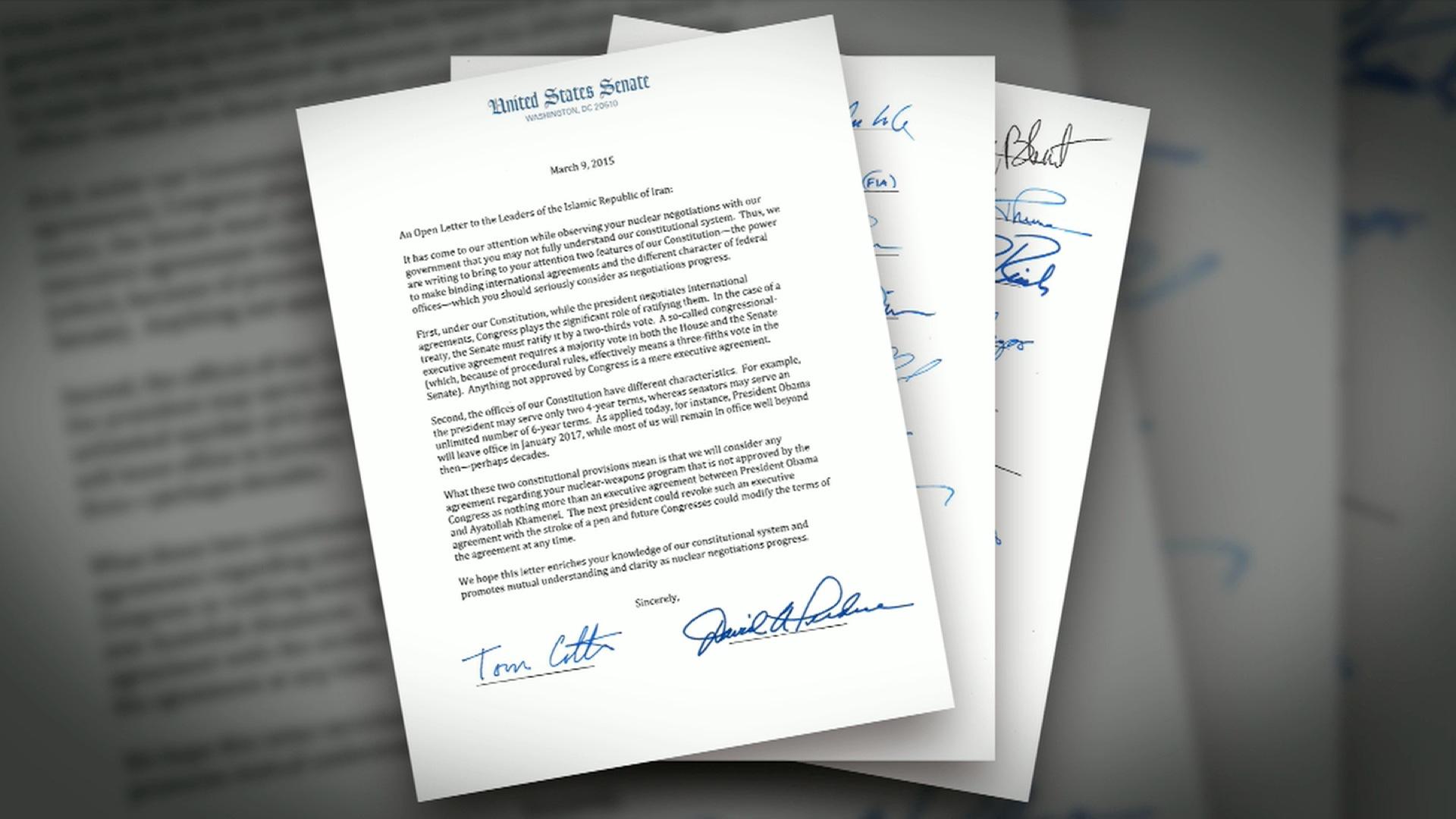 Sen Corker Gop Iran Letter Hinders Congress Role Cnn Video