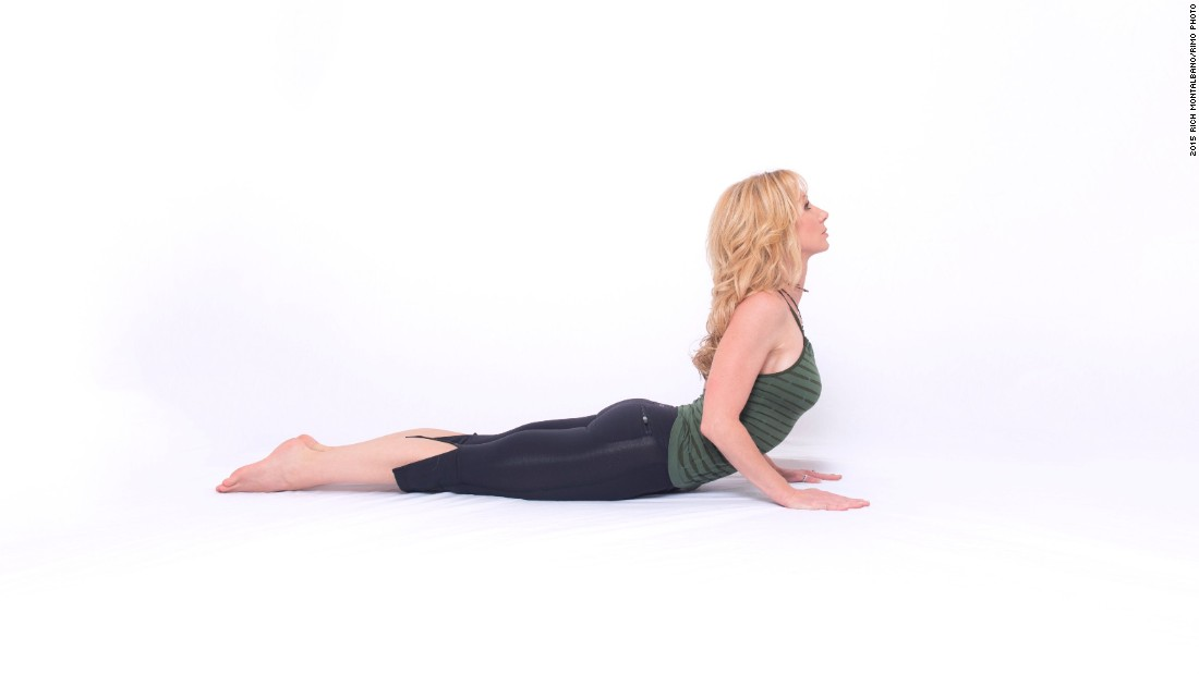 "March to September is traditionally considered ""triathlon season."" Here are four poses that will help you prepare.<br /><br /><strong>Cobra pose: </strong>This strengthens the back, enhances shoulder and mid-back mobility, opens the chest and lengthens the core."