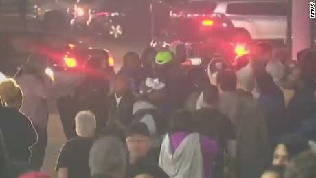 Violence erupts in Ferguson, Missouri, after resignation of police chief