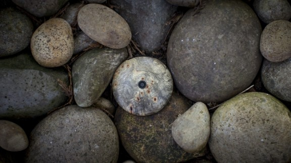 Can you spot the smartphone among these rocks?