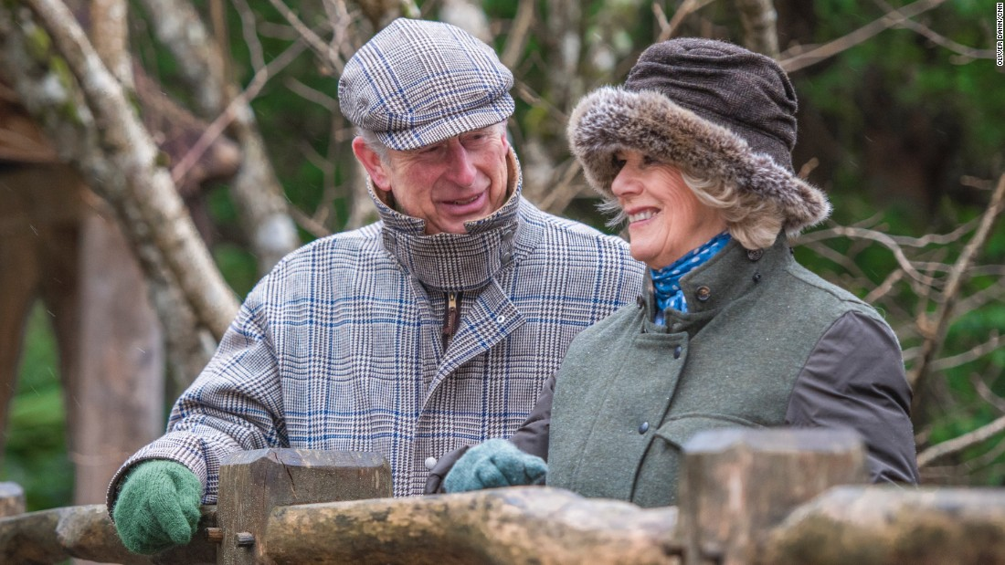 Britain's Prince Charles and Camilla, Duchess of Cornwall, are coming up on their 10th wedding anniversary. The two were married on April 9, 2005.