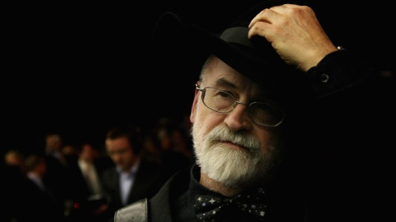 "Best-selling British fantasy author Terry Pratchett died at the age of 66, his website said March 12. Pratchett wrote more than 70 books, including those in his ""Discworld"" series. He had been diagnosed with a rare form of Alzheimer"