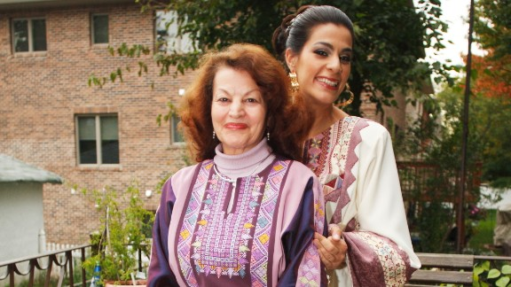 Zayid and her mom.