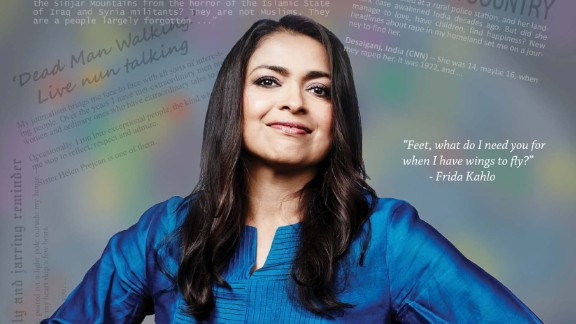 Moni Basu is a reporter for CNN Digital who appears in the Saris to Suits calendar. Many of her news stories focus on her native India and women