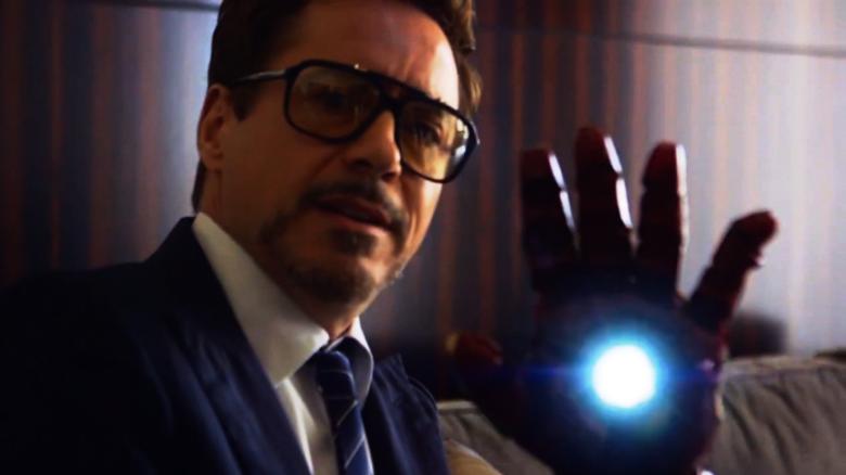 Robert Downey Jr Presents Child With Iron Man Arm Cnn