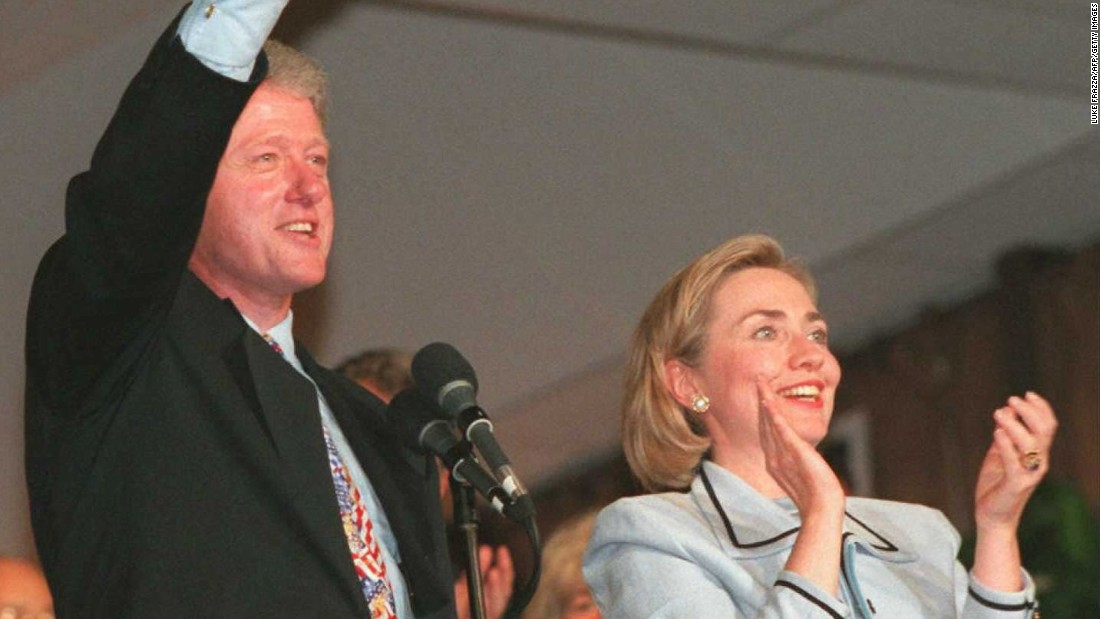 The Clintons opened the Centennial Olympic Games in Atlanta on July 20, 1996. A few months earlier, Hillary Clinton made a trip to Bosnia as first lady, and said she landed in the war-torn country under sniper fire. Years later, she was criticized by the Obama campaign for exaggerating her account of that trip.