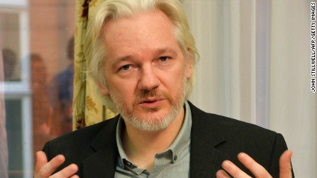 Assange has been holed up in the Ecuadorian Embassy in London since June 2012 to avoid extradition to Sweden.