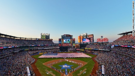 NEW YORK, NY - JULY 16: A general view of the stadium is seen as the American League All-Stars plays against the National League All-Stars during the 84th MLB All-Star Game on July 16, 2013 at Citi Field in the Flushing neighborhood of the Queens borough of New York City. (Photo by Drew Hallowell/Getty Images)