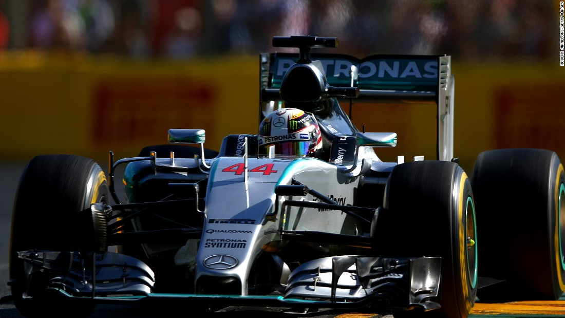 Hamilton recently cruised to victory at the Australian Grand Prix beating his Mercedes teammate Nico Rosberg by 1.3 seconds and Ferrari's Sebastian Vettel by more than half a minute.