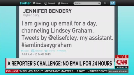 A reporter's challenge: no email for 24 hours