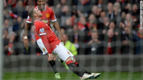 f6f6985adff Wayne Rooney boxes clever  12 knockout goal celebrations
