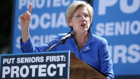 Boston Globe says Warren should challenge Clinton