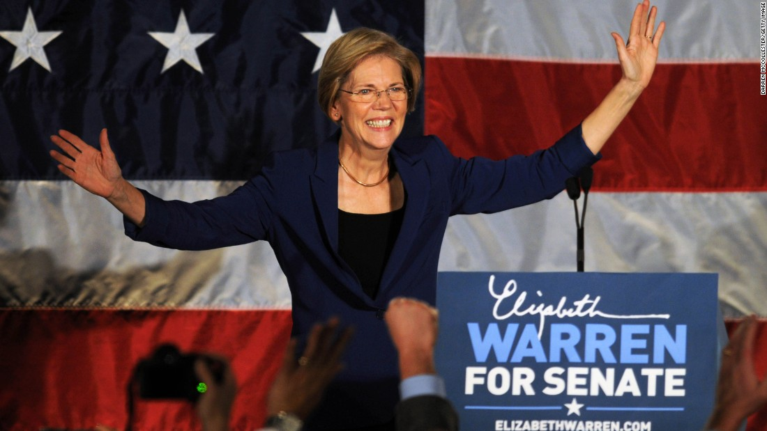 Massachusetts Sen. Elizabeth Warren, who is hailed as a voice for progressives, was actually a Republican well into her 40s before switching parties.