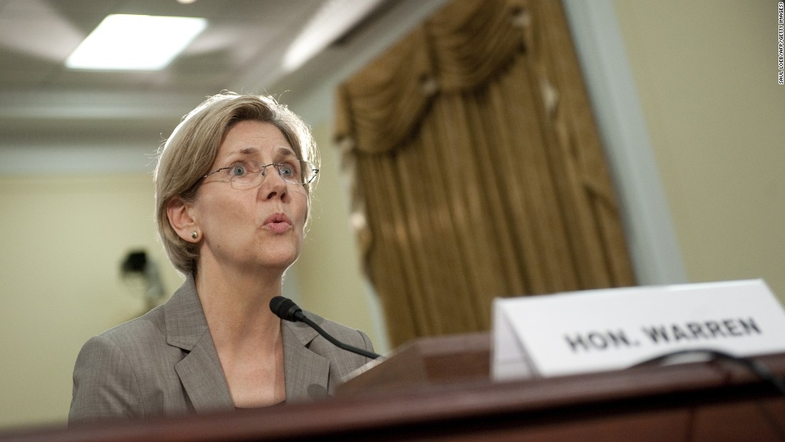 Warren, the former Assistant to the President and Special Adviser to the Secretary of Treasury on the Consumer Financial Protection Bureau, testifies on TARP (The Troubled Asset Relief Program) and Bailouts of Public and Private Programs during a hearing on Capitol Hill on May 24, 2011.