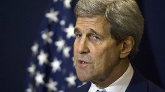 U.S. Secretary of State John Kerry has been spearheading negotiations on a possible deal to rein in Iran