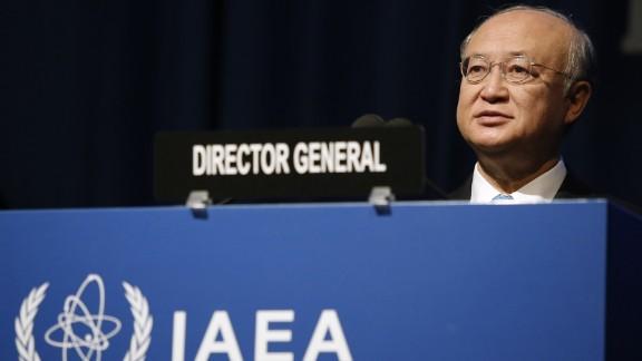 Yukiya Amano is director general of the International Atomic Energy Agency, the U.N.