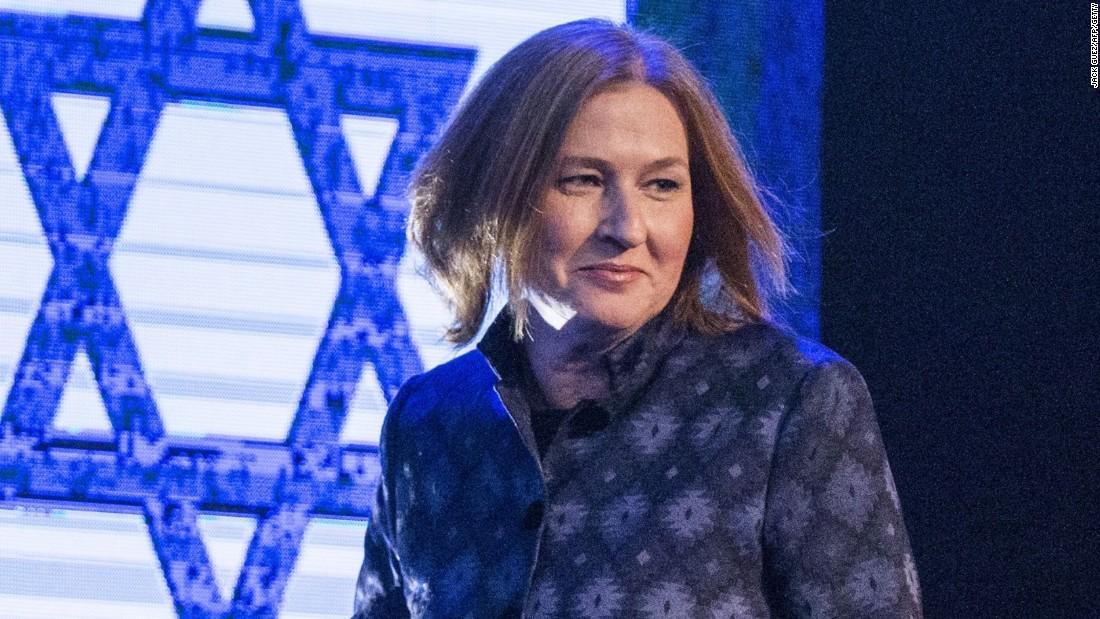 Tzipi Livni Fast Facts