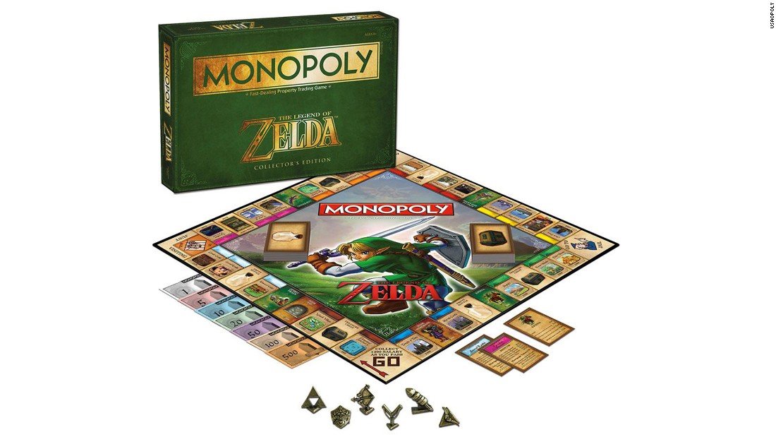 "Think of a concept, and there's probably a Monopoly board for it. That's true even for other games, like ""The Legend of Zelda,"" a Monopoly version of which came out late last year. It's just one of the permutations of the popular board game, which celebrates its 80th birthday this year."